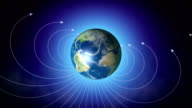 Magnetic field of Earth video