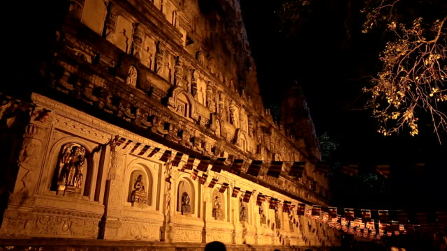 Mahabodhi temple video