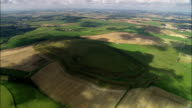 Maiden Castle  - Aerial View - England, Dorset, West Dorset District, United Kingdom video