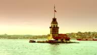 HD: Maiden Tower, Istanbul, TURKEY video