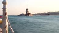 Maiden's Tower. istanbul, Turkey video