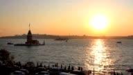 Maidens Tower, Salacak, Istanbul video