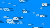 Mail Flying (Email Envelopes) video