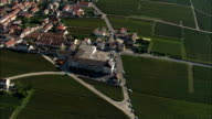 Mailly-Champagne  - Aerial View - Champagne-Ardenne, Marne, Arrondissement de Reims, France video