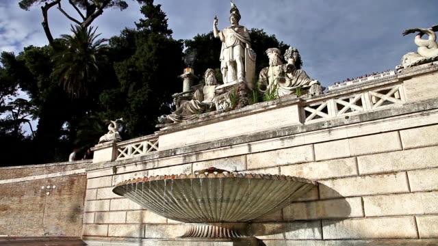 main fountain Rome video