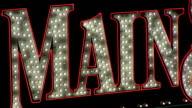 Main Neon sign Marquee Loop video