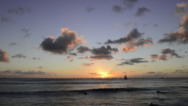 Majestic Sunset in Hawaii video