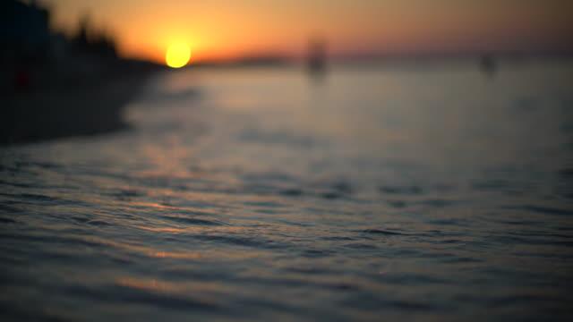 Majestic sunset video