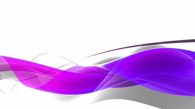 Majestic Waves Loop - Purple Pink (Full HD) video