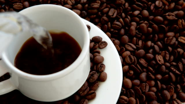 Make a cup of delicious coffee video