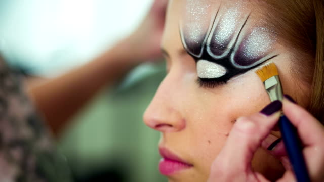 Make up art video