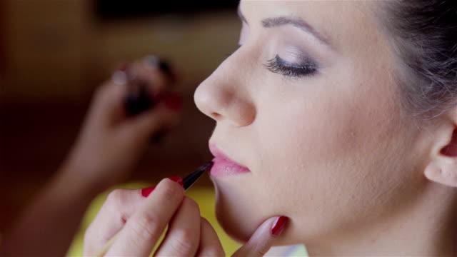 Makeup Application video
