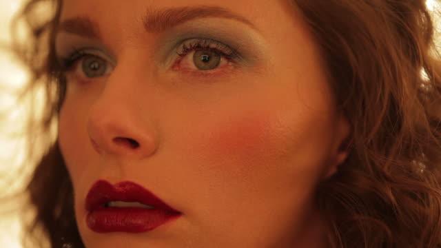 Make-up artist at work video