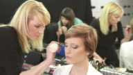 HD: Makeup Artists Preparing Models video
