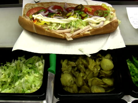 Making A Sandwich video