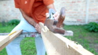 Making a wooden fence video