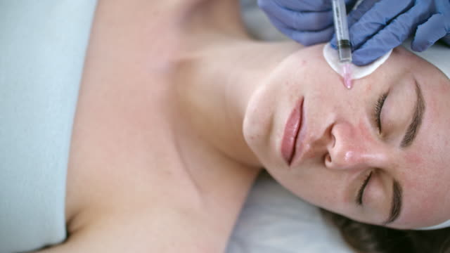 Making Collagen Injections video