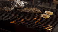 making delicious food oysters in one buffet restaurant propane gas grill a cooking grate video