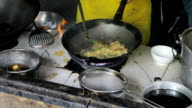 Making Delicious Thai Food In Hot Wok video