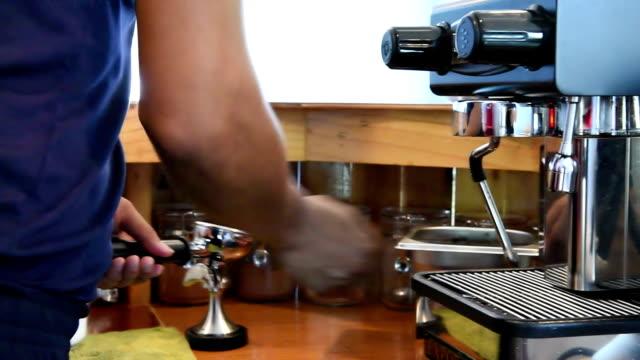 HD: Making Espresso Coffee video