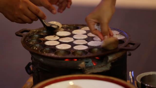 Making kind of Thai sweetmeat video