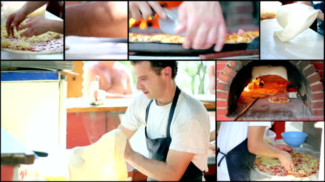 Making Pizza - Collage video