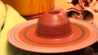 Making pottery on a Wheel video