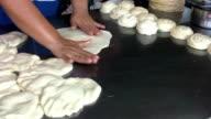 Making Roti Bread Dough video