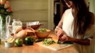 Making Salad 2 video