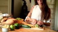 Making Salad video