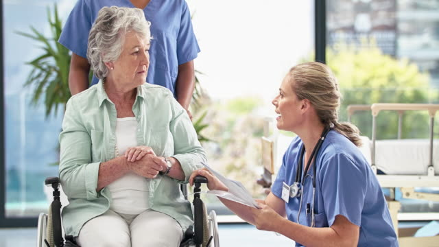 Making sure her patient understands the diagnosis video