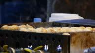 making takoyaki video