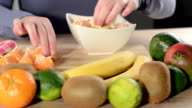 Making the perfect fruit salad video