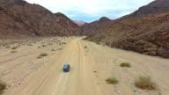 Making tracks through the desert canyones video