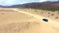 Making tracks through the Namibian Desert video