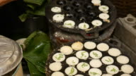 Making traditional Thai sweet dessert video
