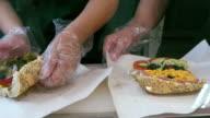 Making tuna sandwich video