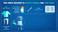 MALARIA-simple measures to protect yourself-ENG video