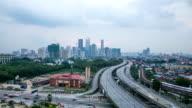 malaysia city(KLCC) video