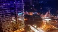 Malaysia Cityscape Timelapse night video