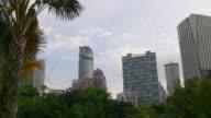 malaysia sunny evening klcc downtown panorama walk kuala lumpur video