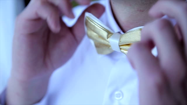 male bow tie video