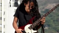 Male Electric Guitar Player video