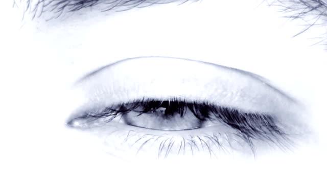 Male eye video