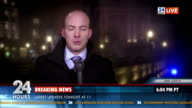 HD: Male Reporter On Location video