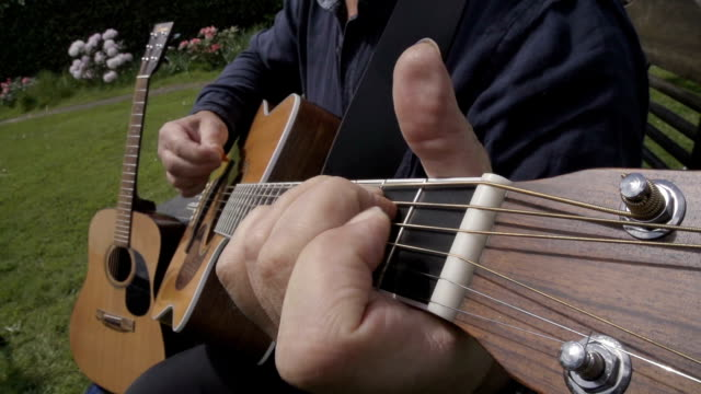 Male Singer Songwriter In Slow Motion video