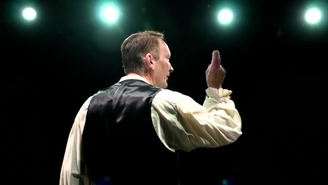 Male Stage Actor Performing video