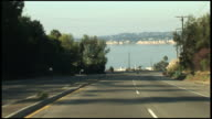 (HD1080) Malibu - Driving over PCH Pacific Coast Highway Hill video