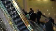 Mall Pedestrian Traffic Tilt Shift video