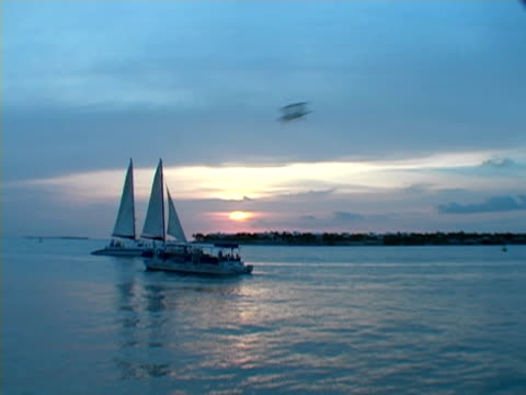 Mallory Square Sunset Sailboat NTSC video